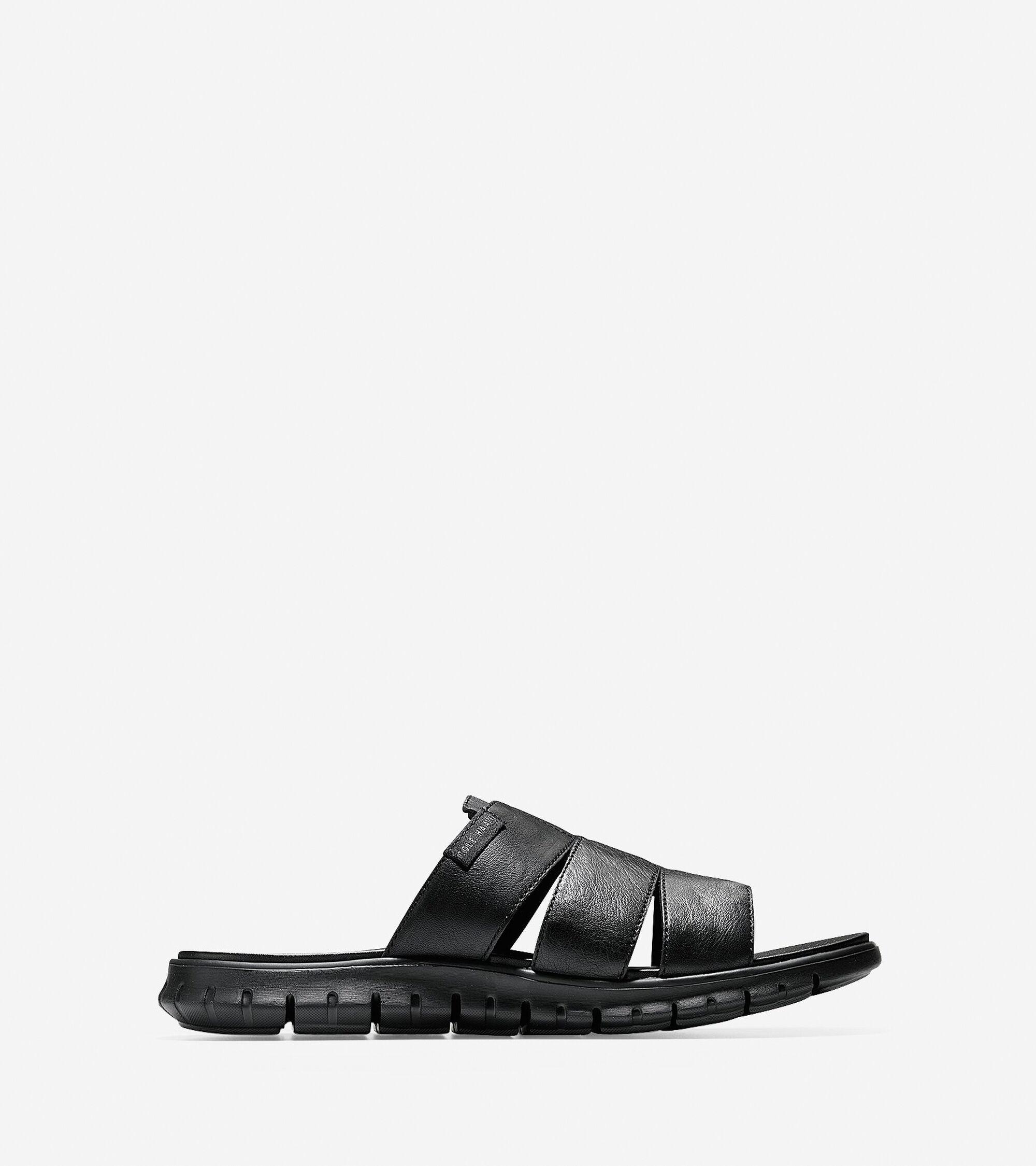 Sandals > Men's ZERØGRAND 3 Strap Slide Sandal