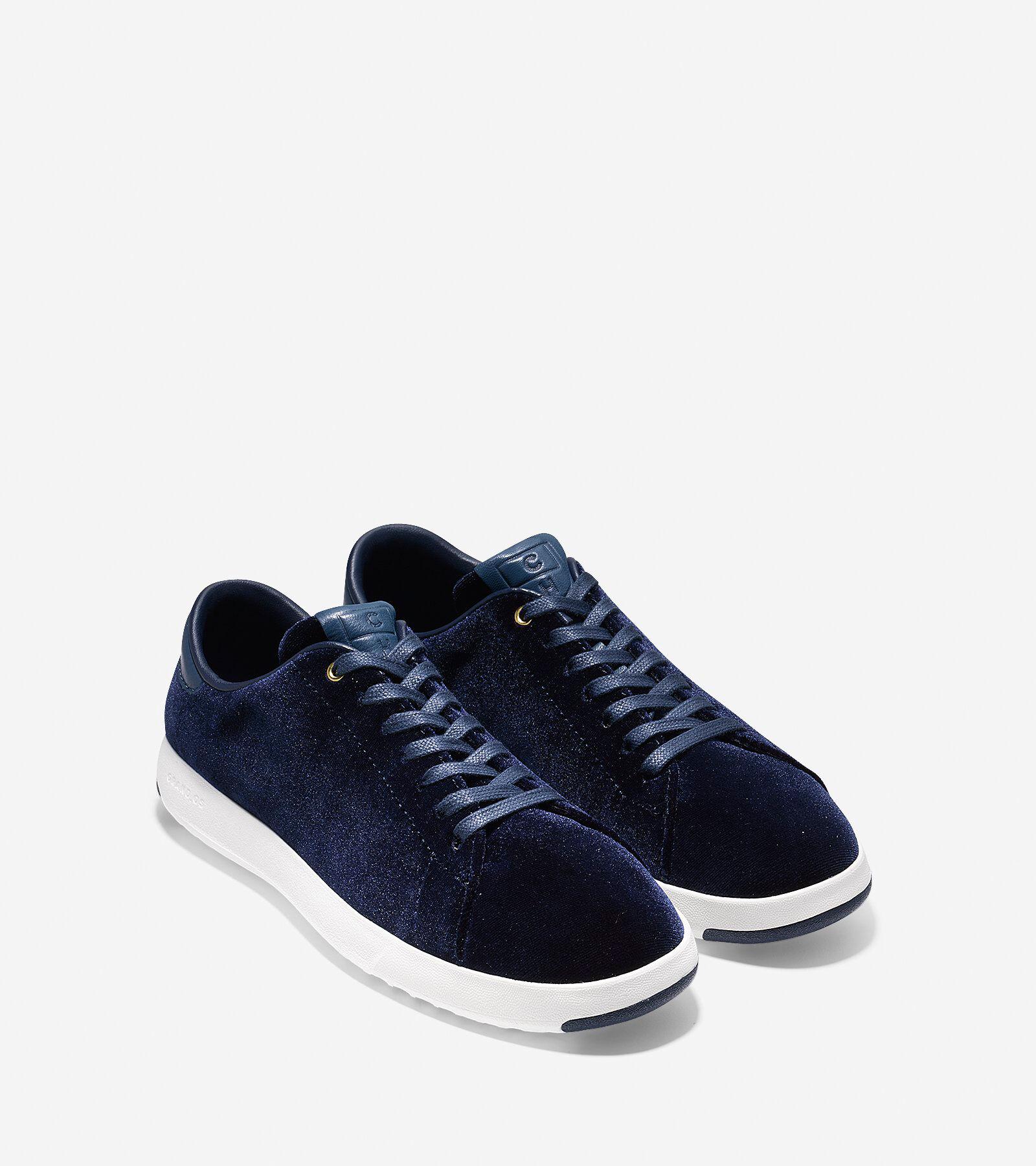 Cole Haan Grandpro Velvet Tennis Sneakers UgJVrm4Q