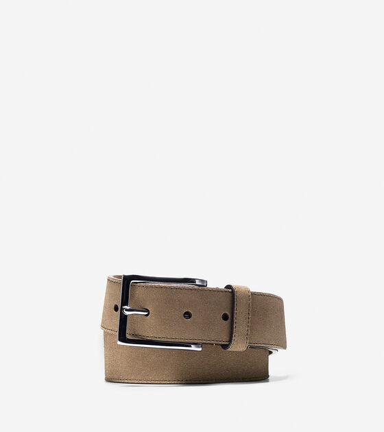 Bags & Outerwear > 32mm Suede Belt