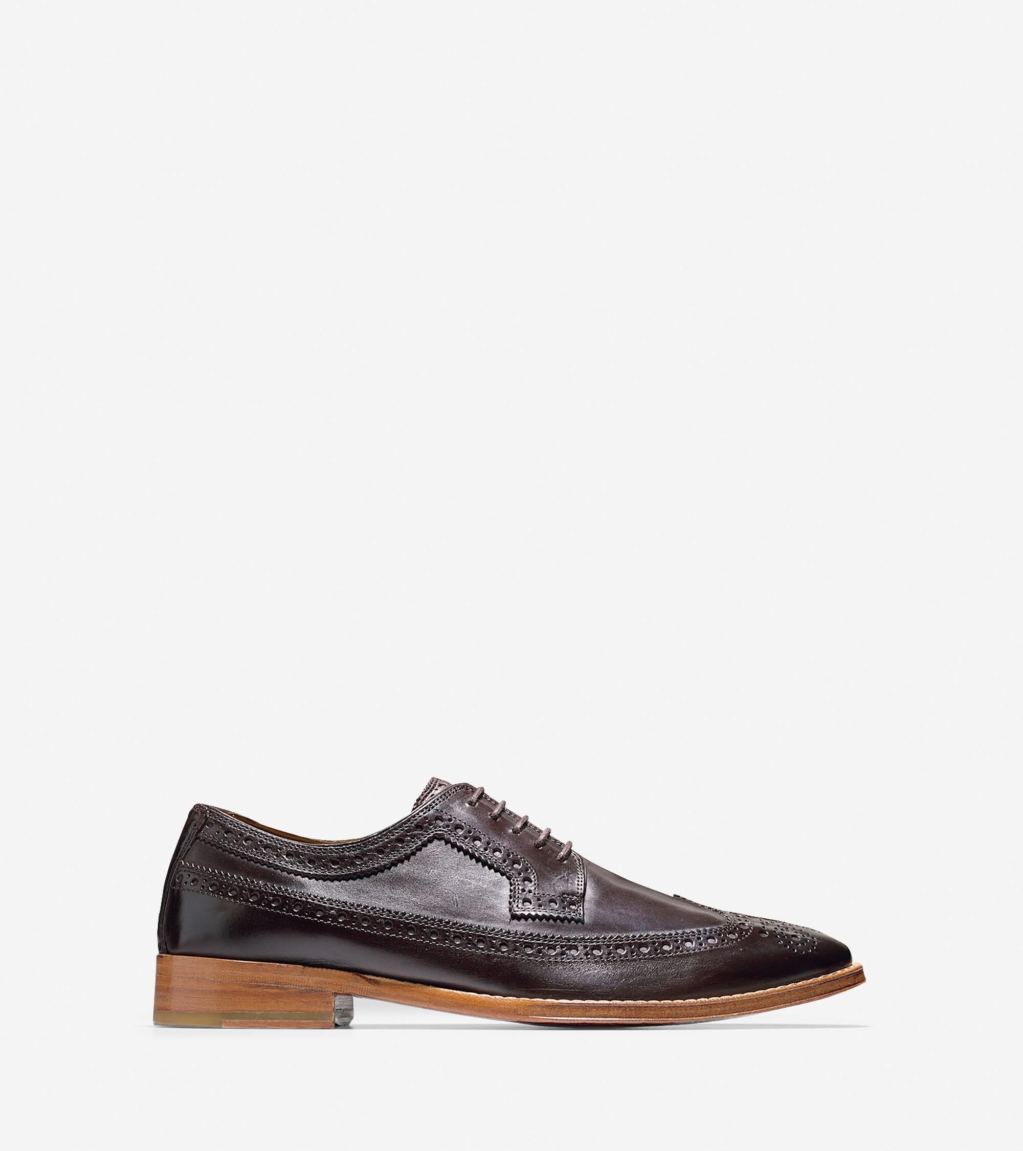 Shoes > Lionel Long Wingtip Oxford