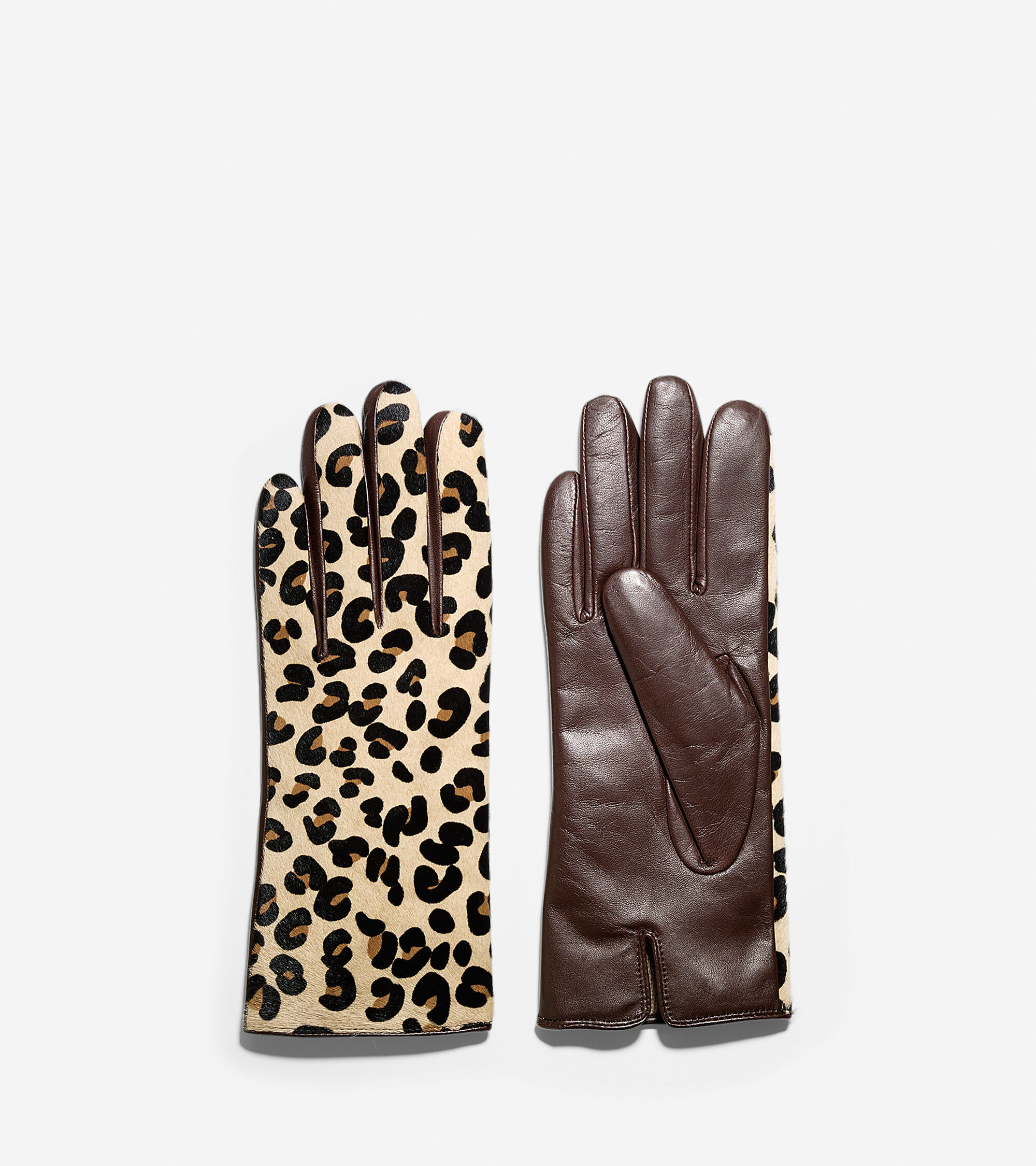 Cole haan black leather gloves - Haircalf Leather Glove Haircalf Leather Glove Colehaan