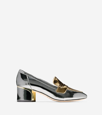 Collection Block Heel Loafer (50mm)