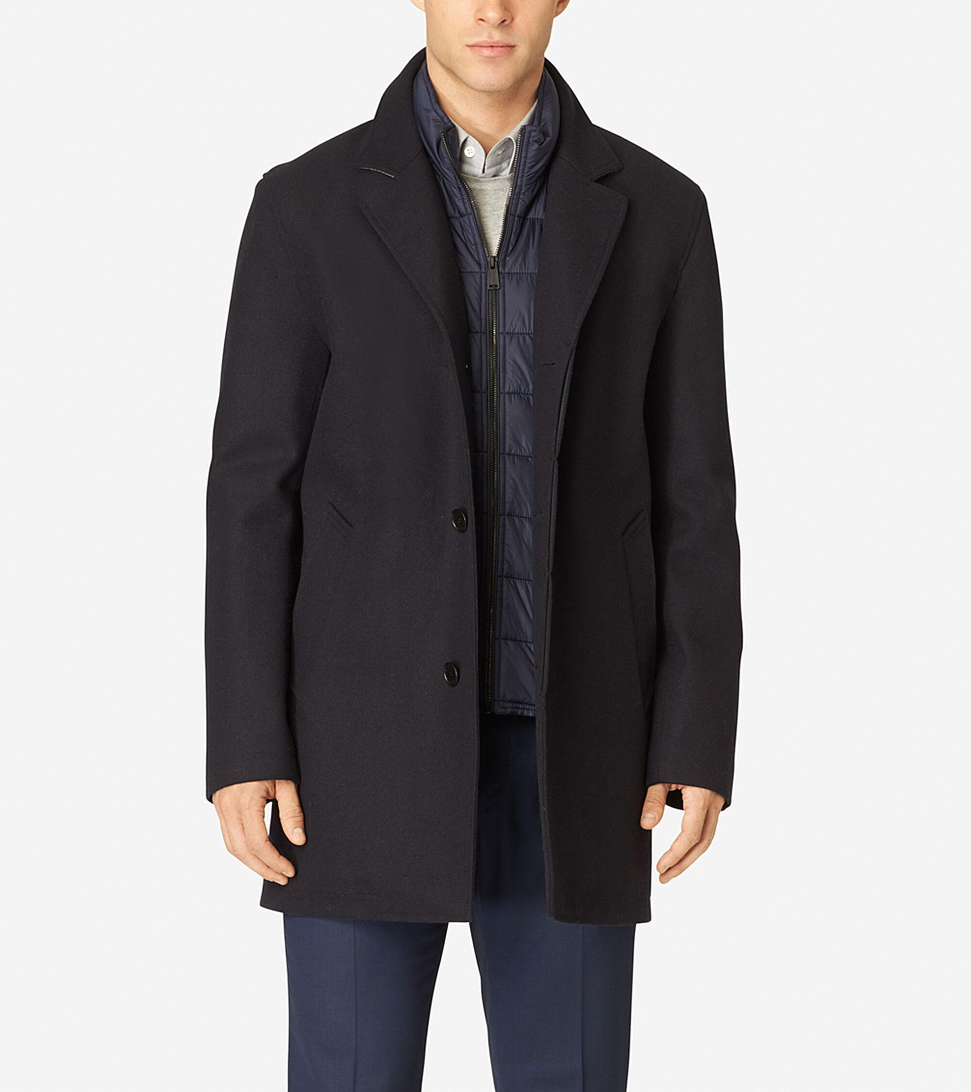 Outerwear > Waterproof Wool Topper