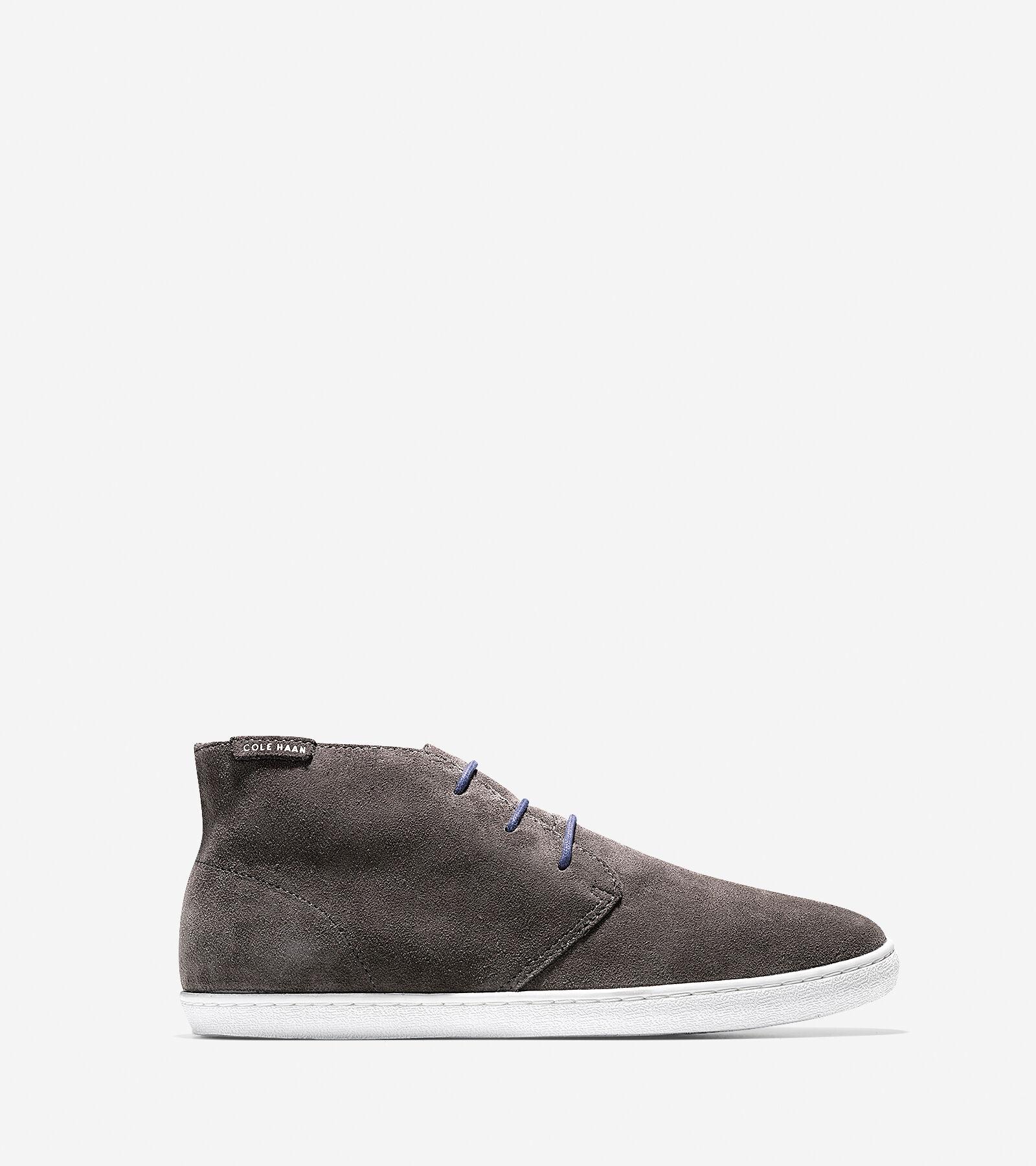 Love Mens Shoes Grey Cole Haan Nantucket Chukk Casual Shoes