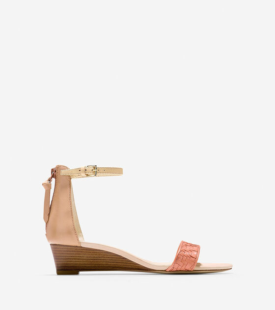 Shoes > Genevieve Weave Wedge (40mm)
