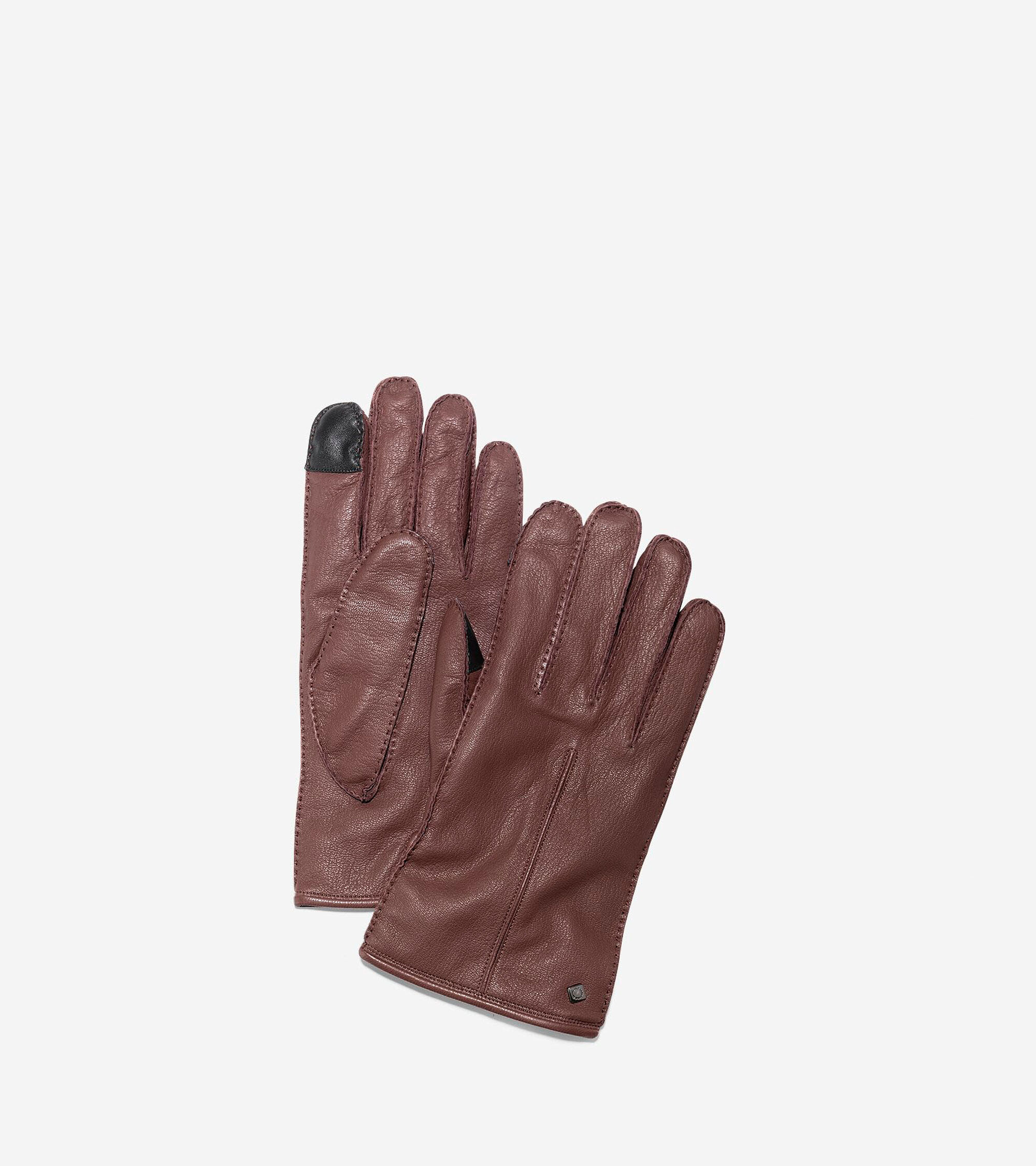 Mens leather kid gloves - Men S Handsewn Deerskin Leather Gloves