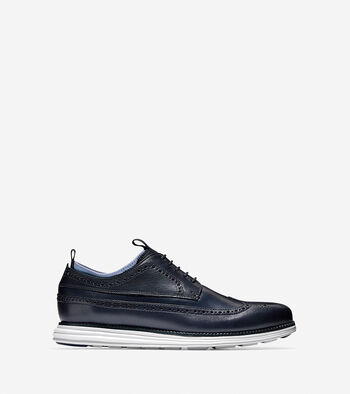 Men's ØriginalGrand Long Wingtip Novelty Oxford