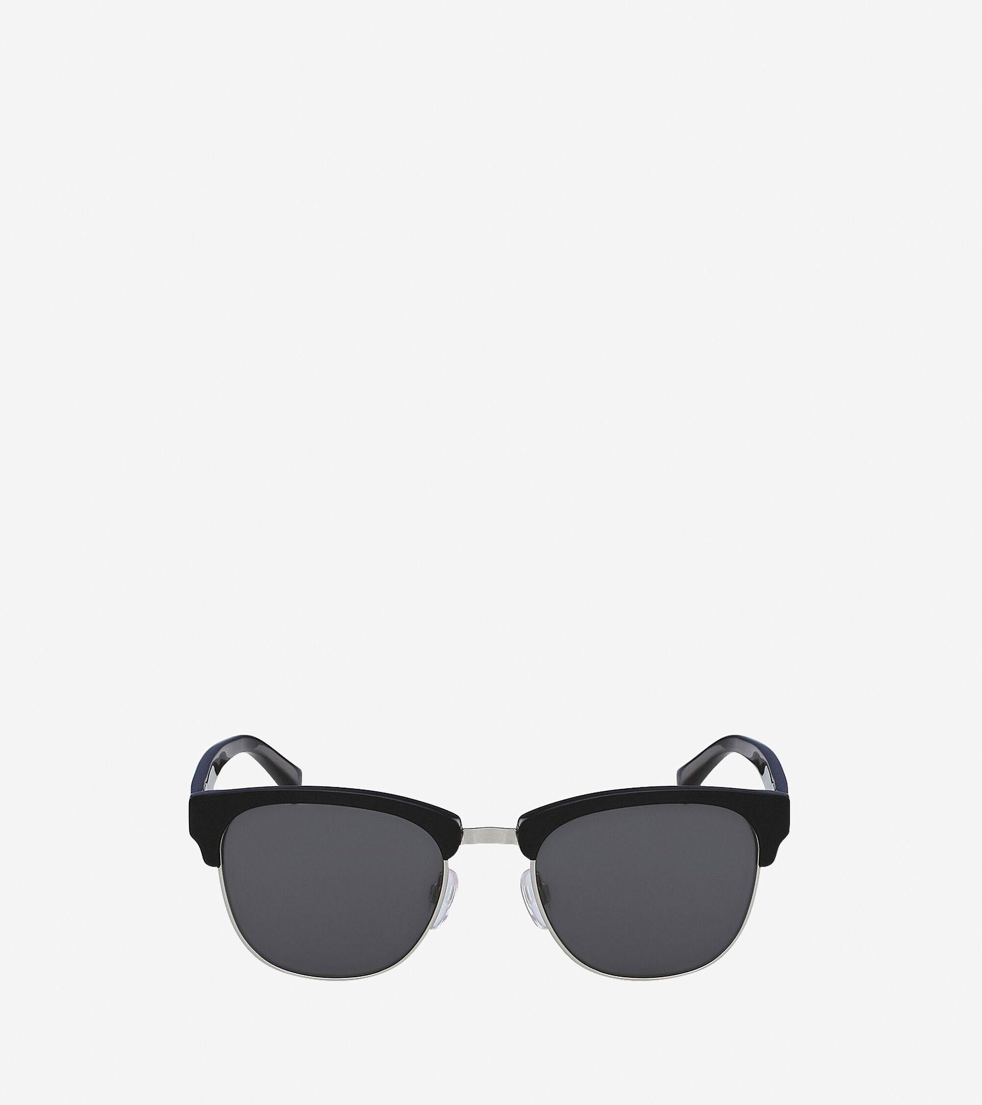 Accessories > Acetate/Metal Square Sunglasses