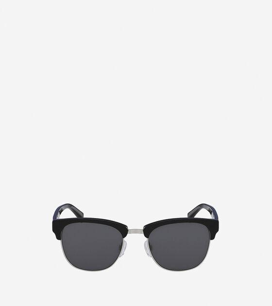Accessories & Outerwear > Acetate/Metal Square Sunglasses