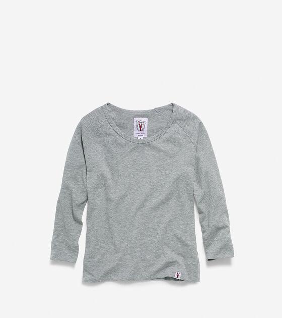 Apparel > Women's Pinch Scoop Neck Long Sleeve Shirt