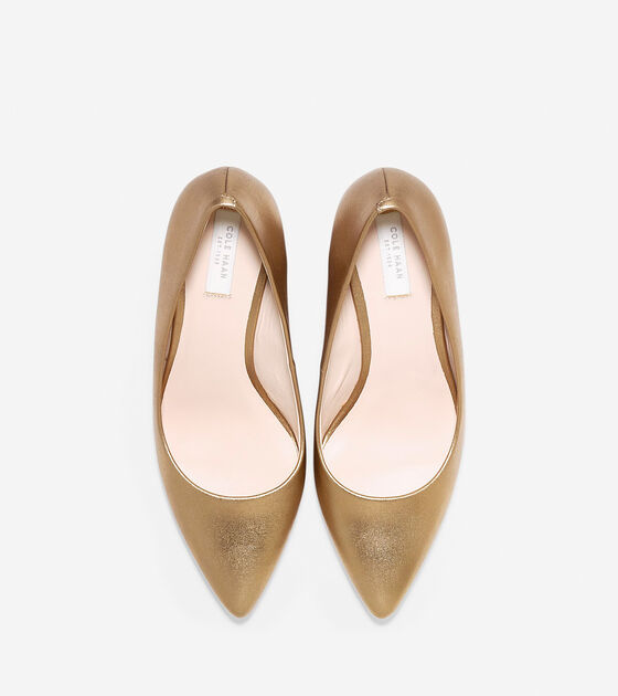 Emery Wedge (75mm) - Almond Toe