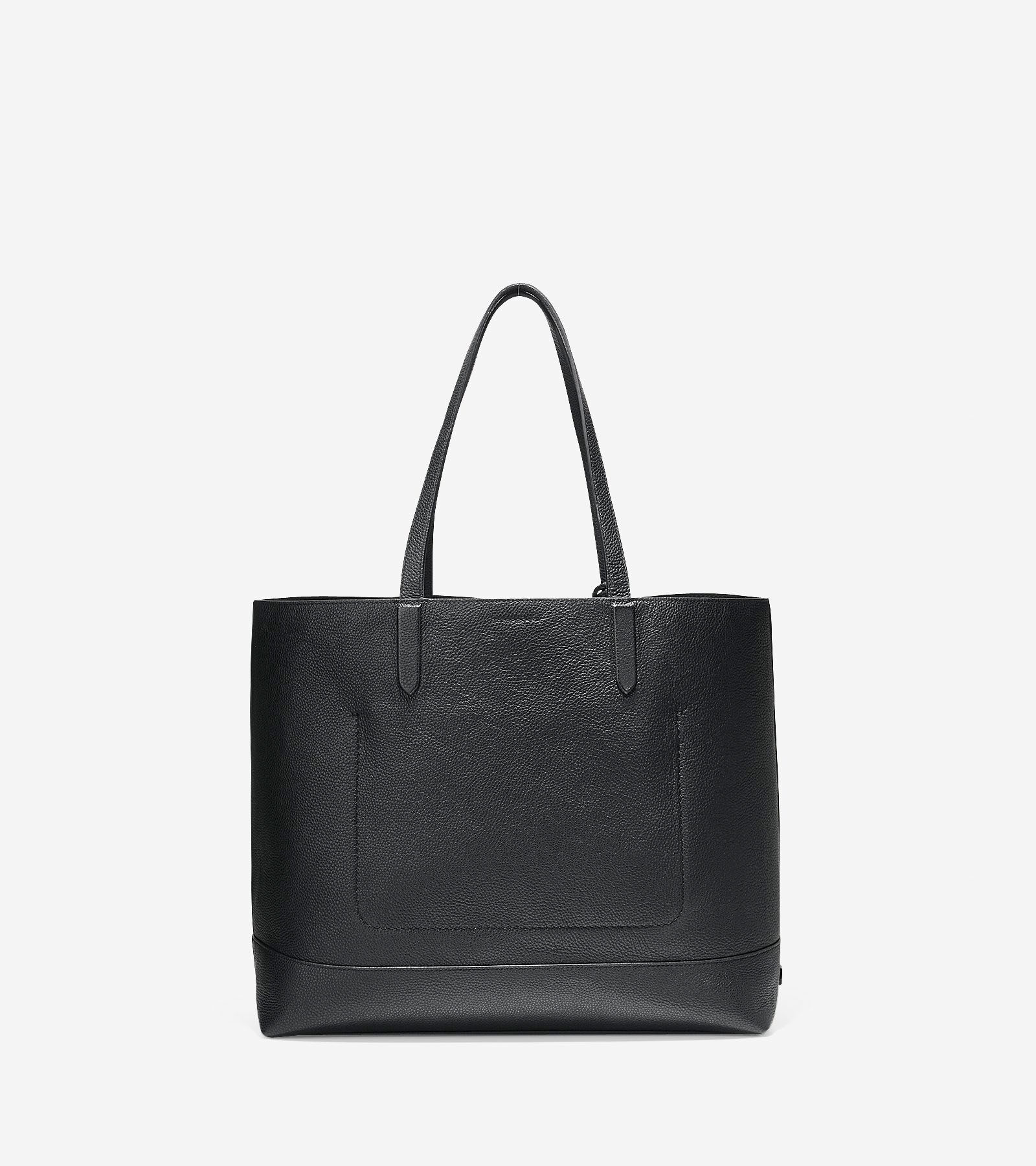 Tote Bag - Leather and Feather Tote by VIDA VIDA W7rmuce6p