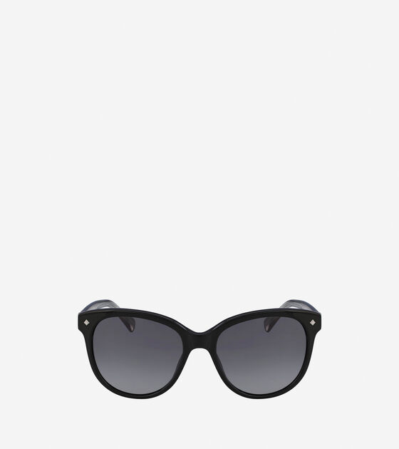 Sunglasses > Acetate Weave Rounded Square Sunglasses