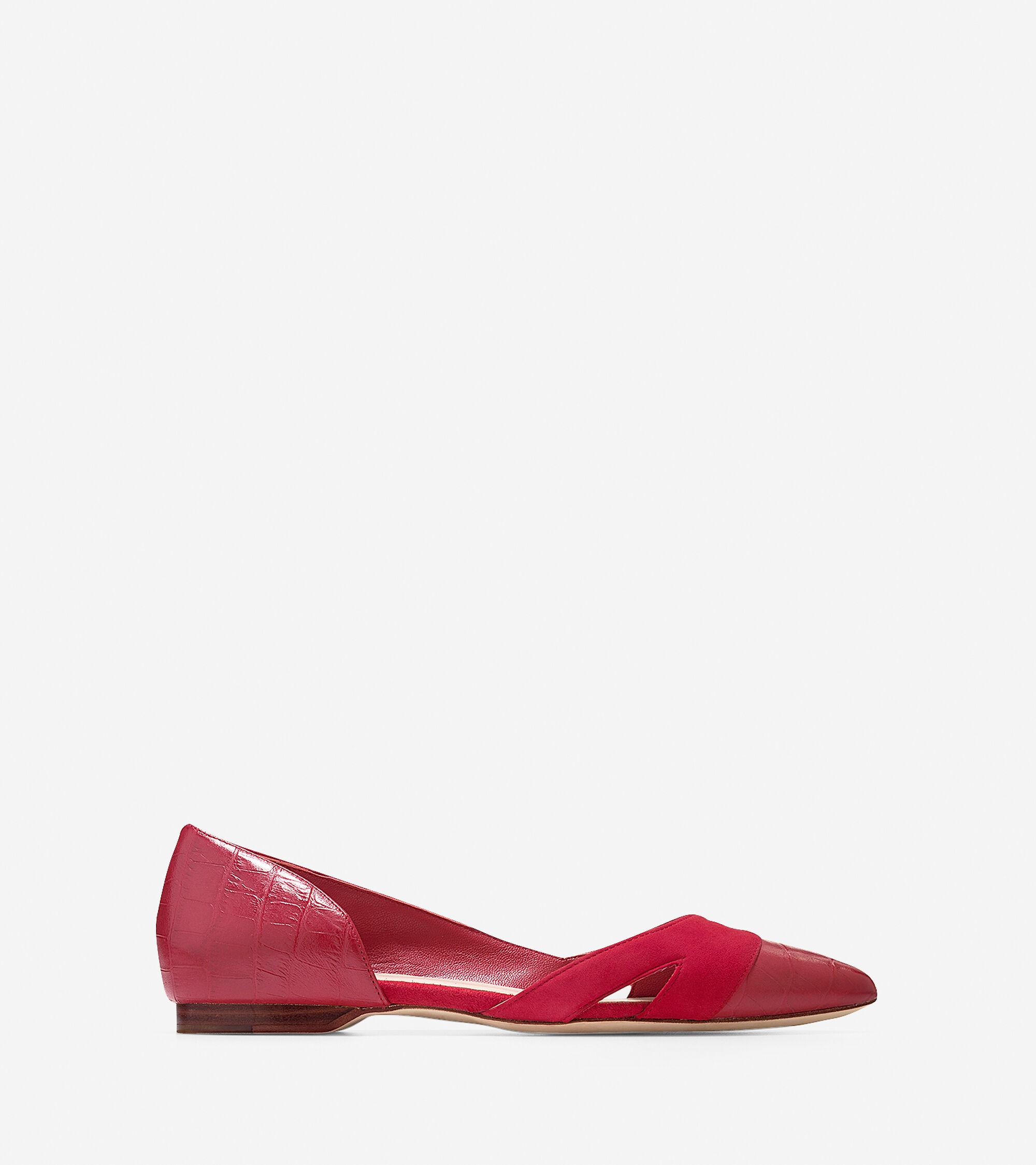 Shoes > Amalia Cut Out Skimmer