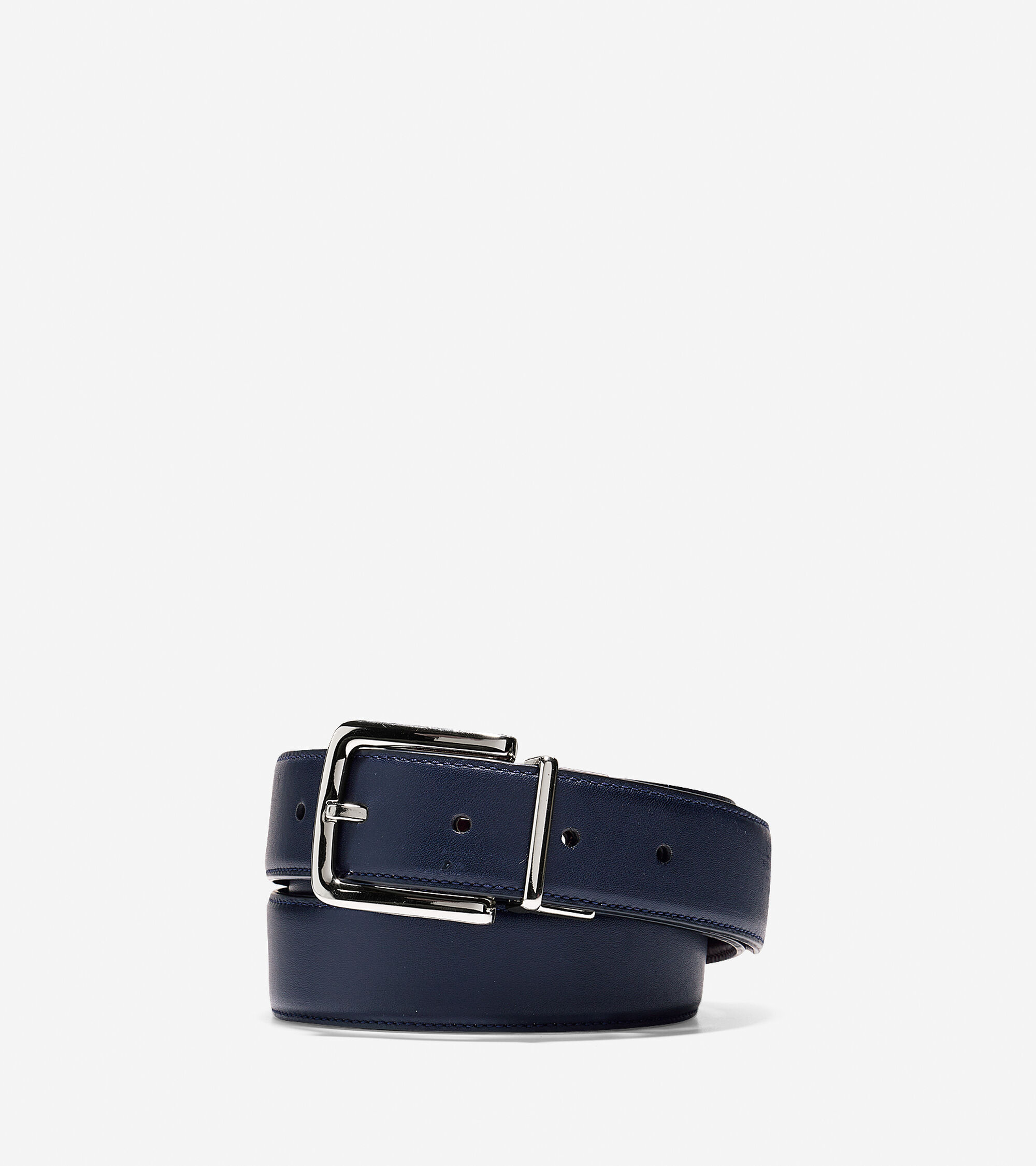 Accessories > 32mm Reversible Dress Leather Belt