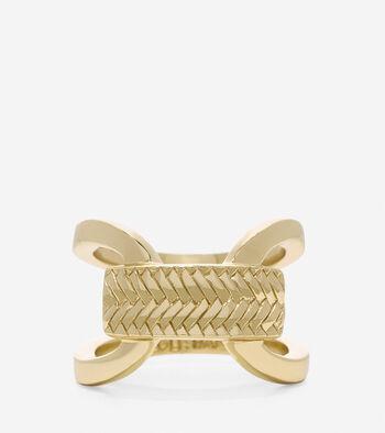 Basket Weave Ring