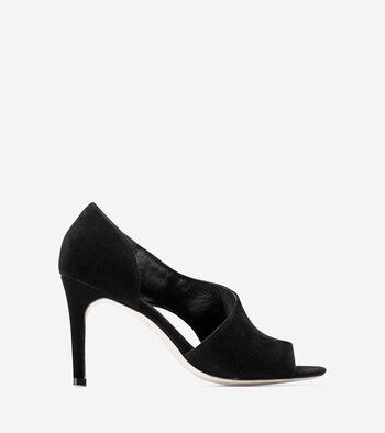 Viveca Open Toe Pump (85mm)