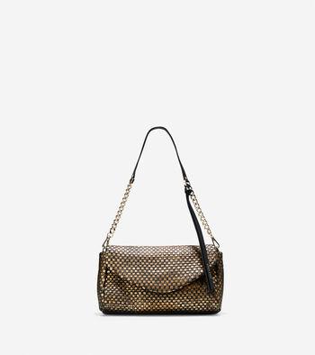 Bethany Weave Clutch Shoulder Bag