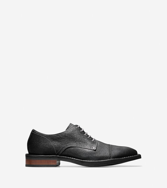 Shoes > Canton Stitch Cap Toe Oxford