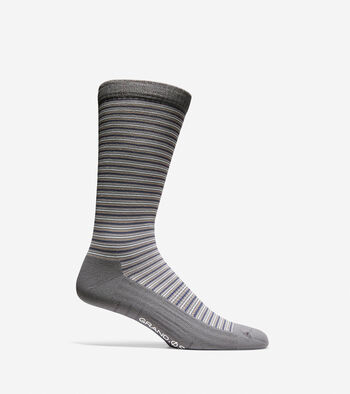 Grand.ØS Multi-Stripe Crew Socks