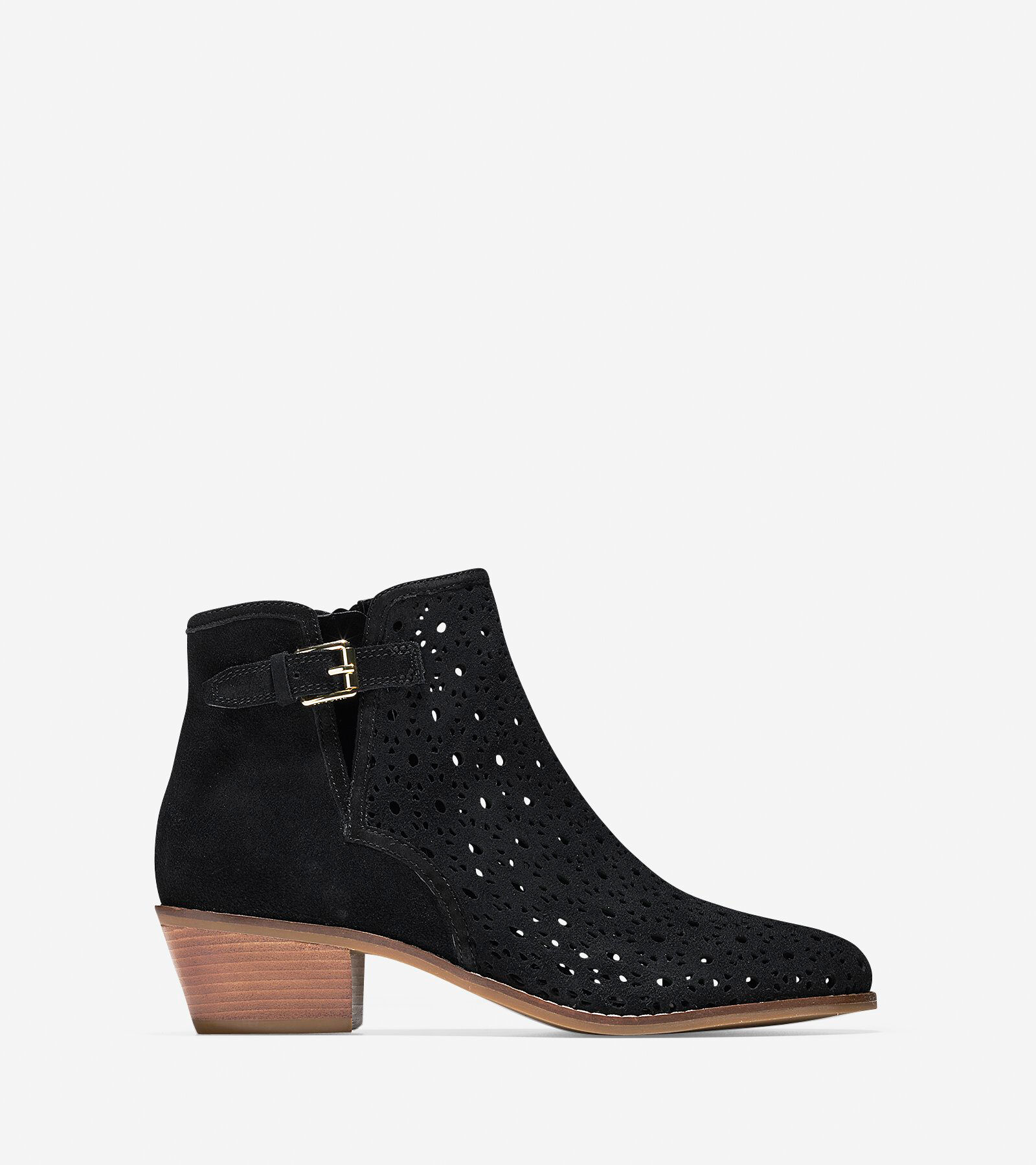 Boots & Booties > Willette Perforated Bootie ...