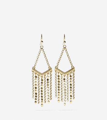 Metropolitan Club Multi-Chain Drama Earrings