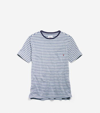 Men's Pinch Short Sleeve Lobster Pocket Tee