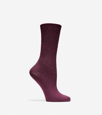 Genevieve Crew Socks