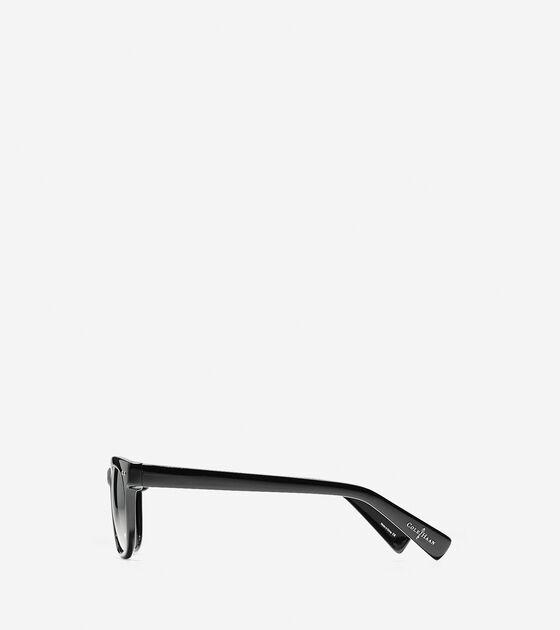 Acetate Tapered Square Sunglasses
