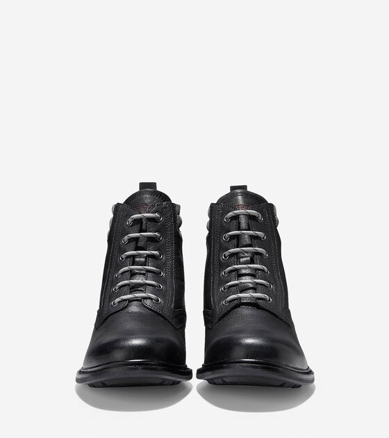 Jameson Shearling Waterproof Lace Up Boot