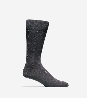 Diamond Neat Socks