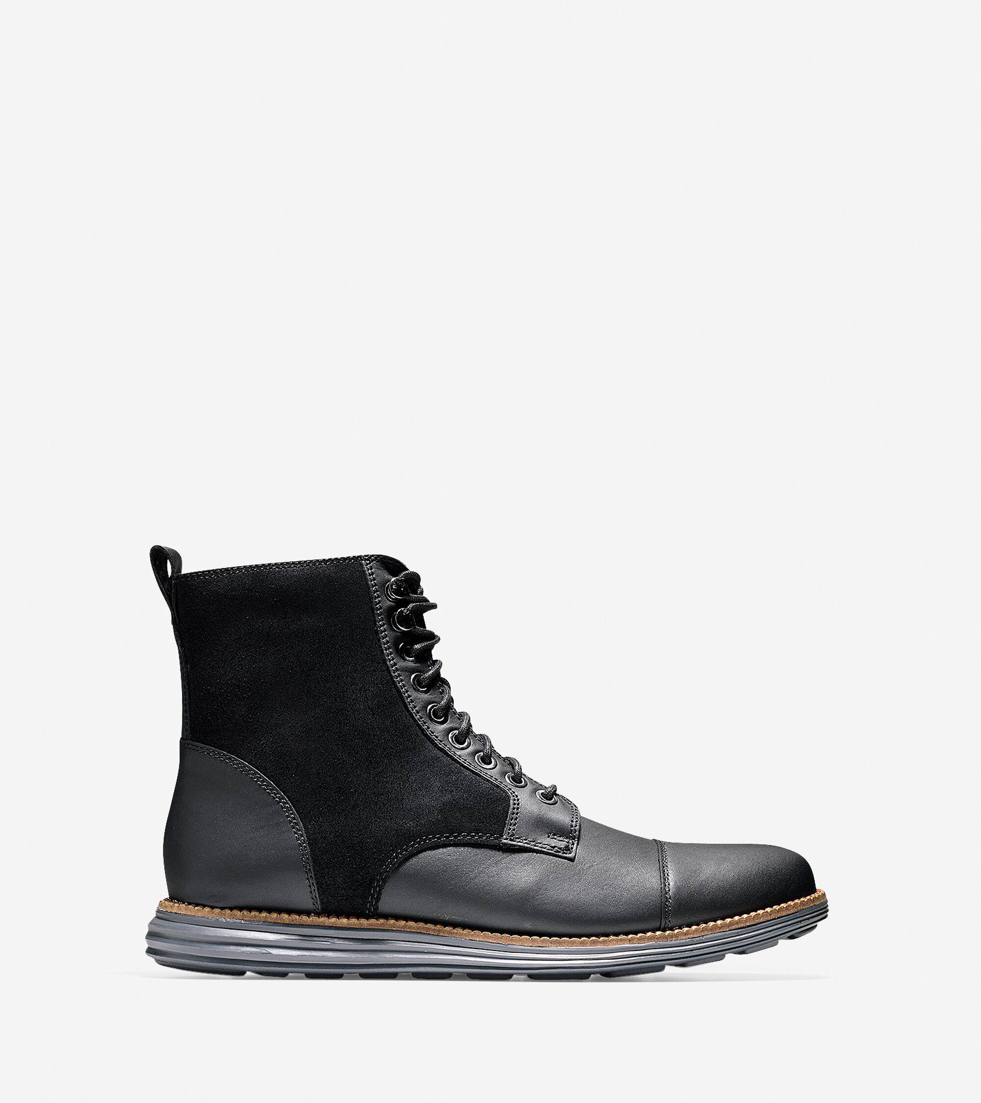 Shoes > ØriginalGrand Waterproof Cap Toe Boot