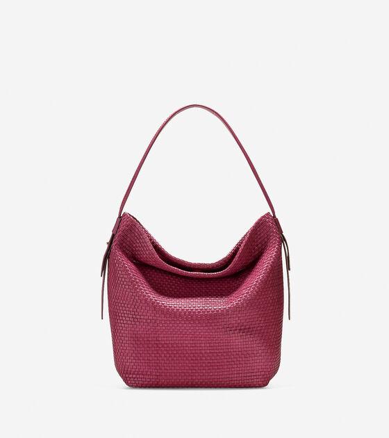 Handbags > Bethany Weave Large Bucket Hobo