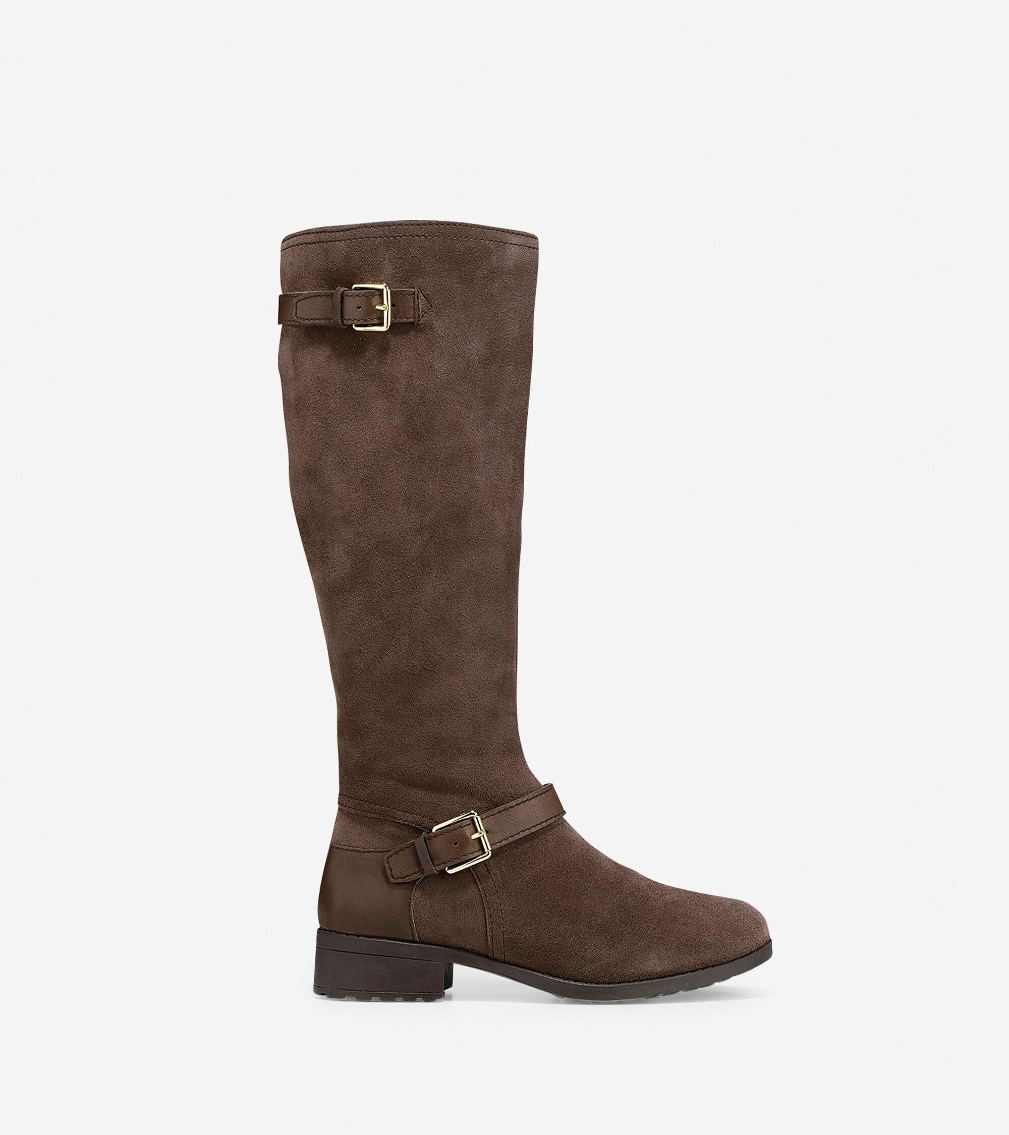 Cole Haan Womens Marla Waterproof Tall Boots