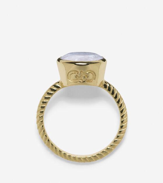 Brilliant Cut Semi-Precious Ring