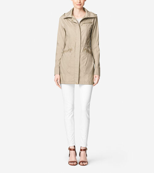 Cole Haan Single Breasted Belted Down Coat - Zappos.com Free Shipping ...