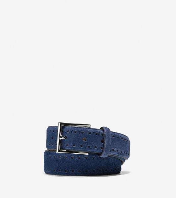Accessories > 32mm Bridal Suede Belt