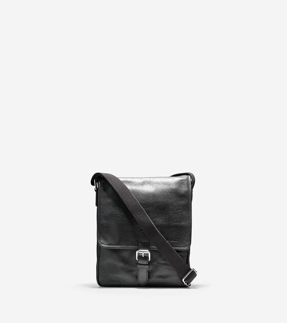 Briefs & Bags > Pebbled Leather Reporter Bag