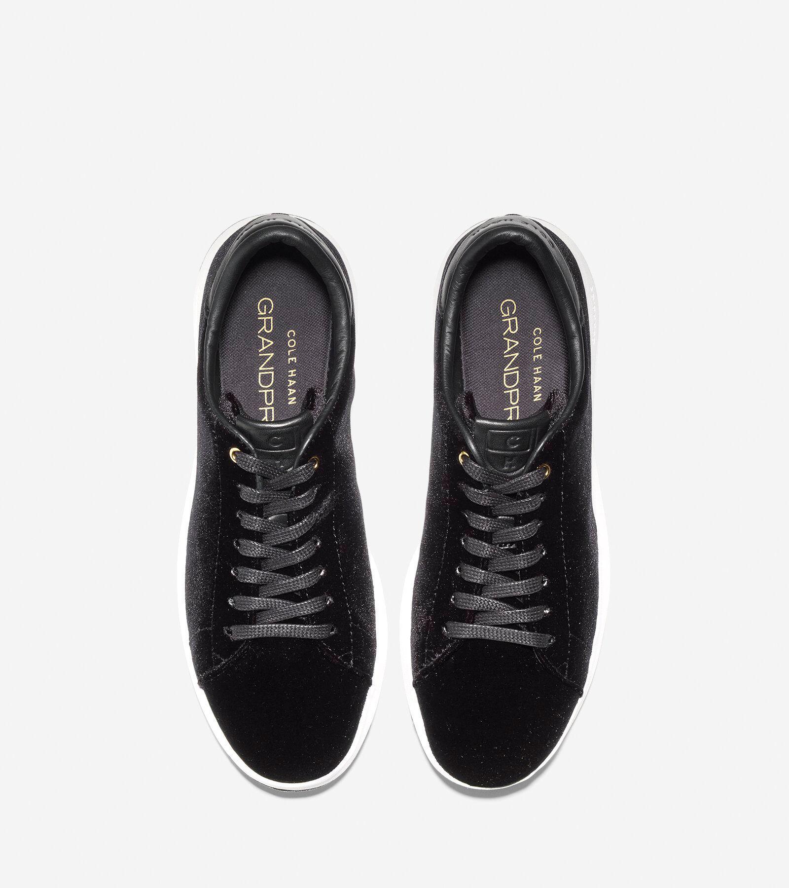 Cole Haan GrandPro Velvet Tennis Sneaker bYNGL0QVe