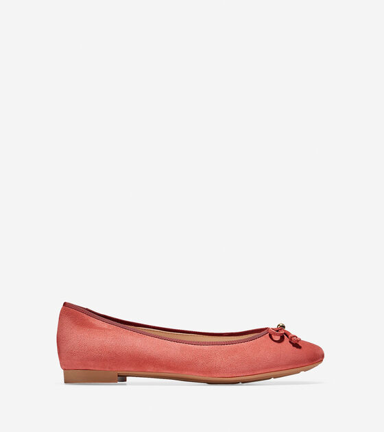 Megan Lace Bow Ballet by Cole Haan