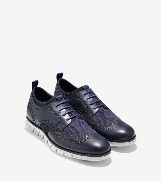 ZERØGRAND Short Wingtip Oxford
