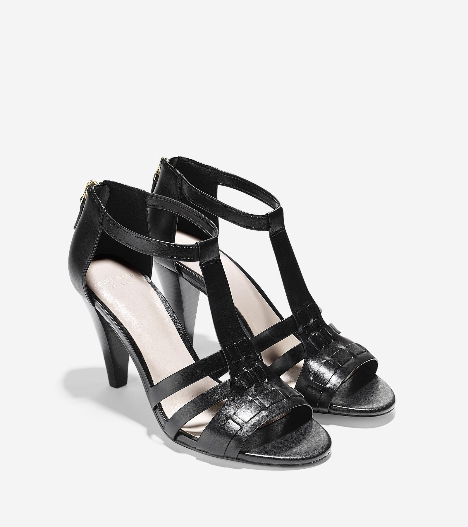 Womens Sandals Cole Haan Cady High Sandal Black