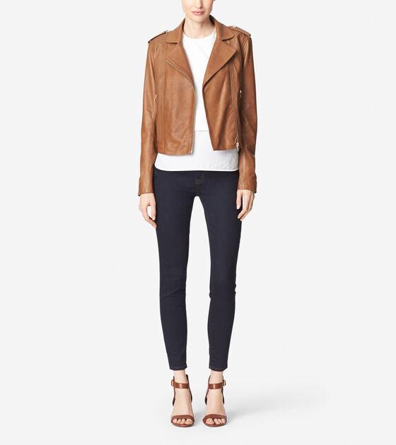 Outerwear > Waxy Lamb Moto Jacket
