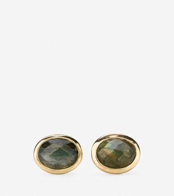 Water Under the Bridge Semi-Precious Stud Earrings
