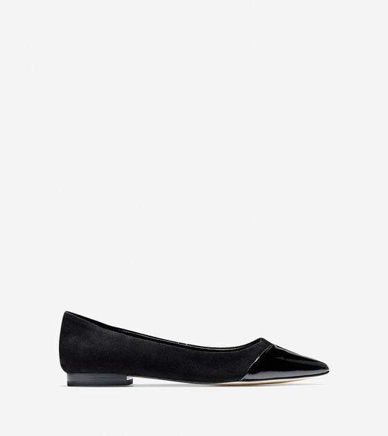 Shoes > Allison Cap Toe Skimmer