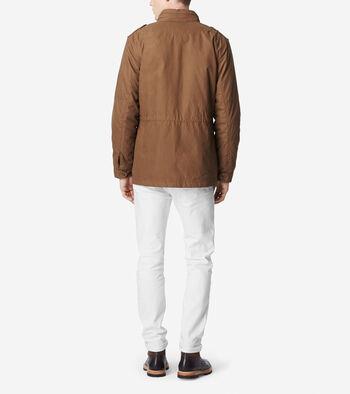 Brushed Twill Utility Jacket