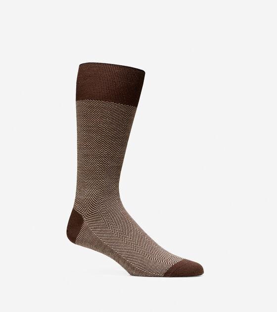 Accessories > Herringbone Merino Wool Crew