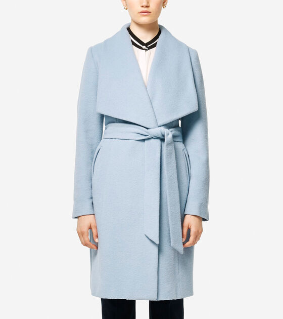 Classics > Italian Alpaca Wrap Coat