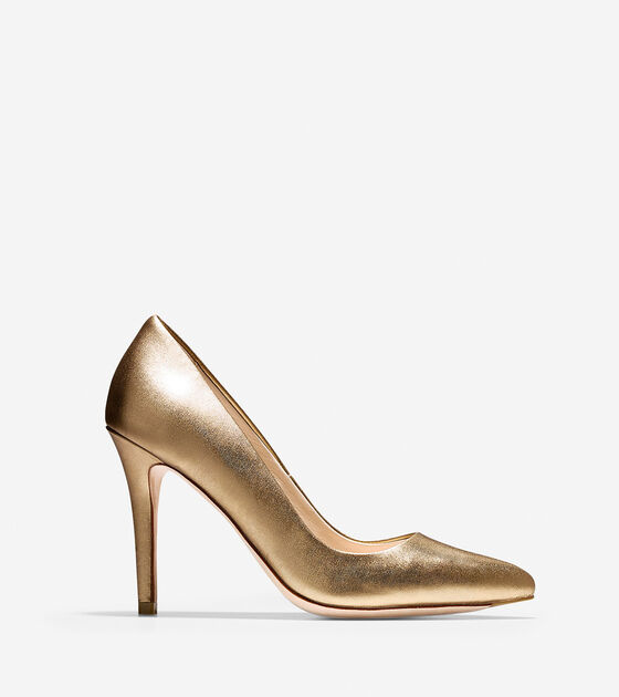 Heels > Emery Pump (100mm) - Almond Toe