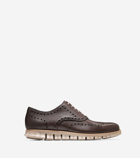 Shoes > ZERØGRAND Water Resistant Wingtip Oxford